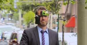 Daily Show spoof on Google Glass