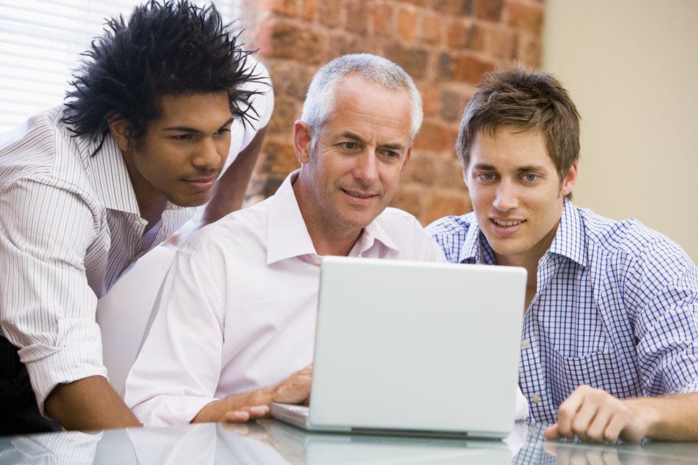 Clients observe an Online Focus Group